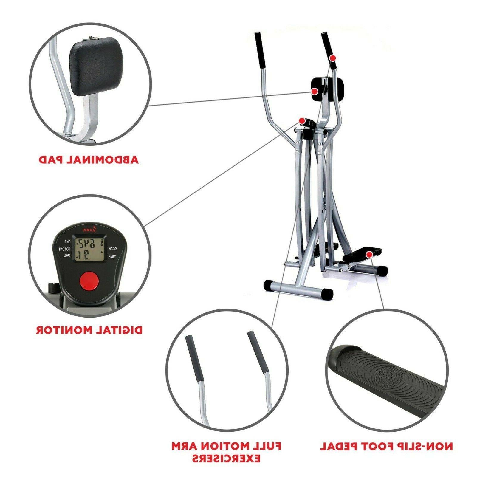 Air Walk Machine LCD Monitor Fitness Workout