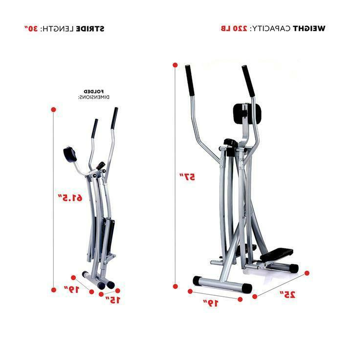 Air Walk Trainer Machine Monitor Fitness Workout