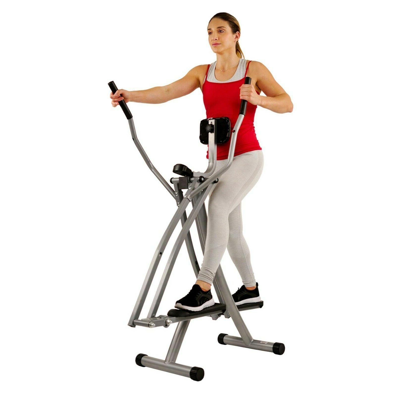 air walk trainer elliptical machine glider digital