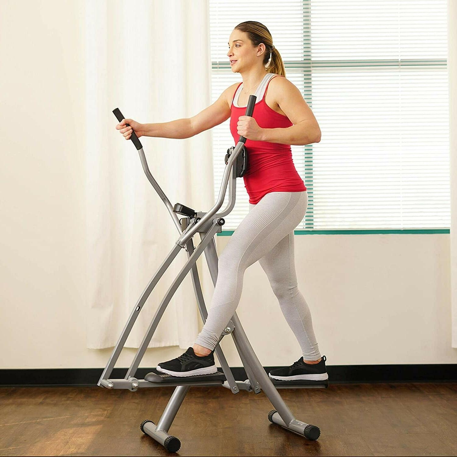 Air Walk Trainer Elliptical Machine w/LCD apx 7