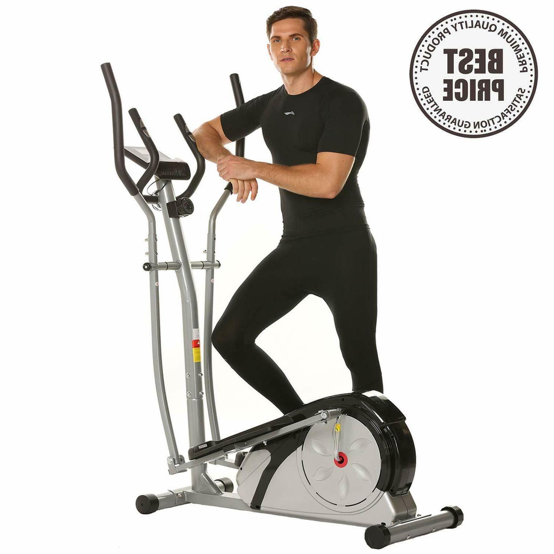 Elliptical Machine Fitness Workout Cardio Training Machine,