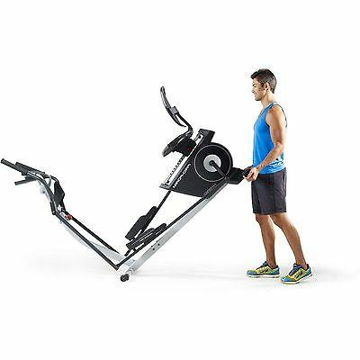 2-in-1 Elliptical Machine Workout Fitness