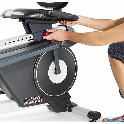 2-in-1 Elliptical Recumbent Workout New