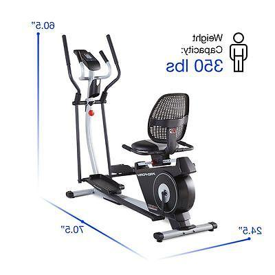 2-in-1 Machine Exercise Workout New