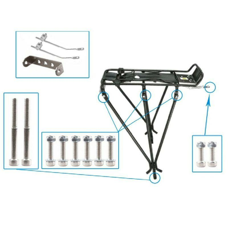 Bike Rear Rack Tailstock Quick Release Carrier Seatpost MTB Bicycle