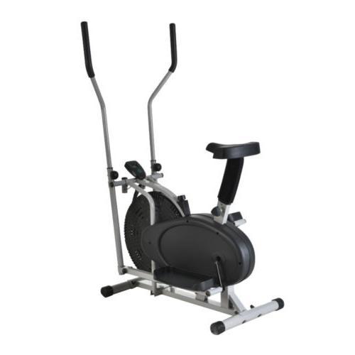 BLACK Stationary Exercise Fitness Machine