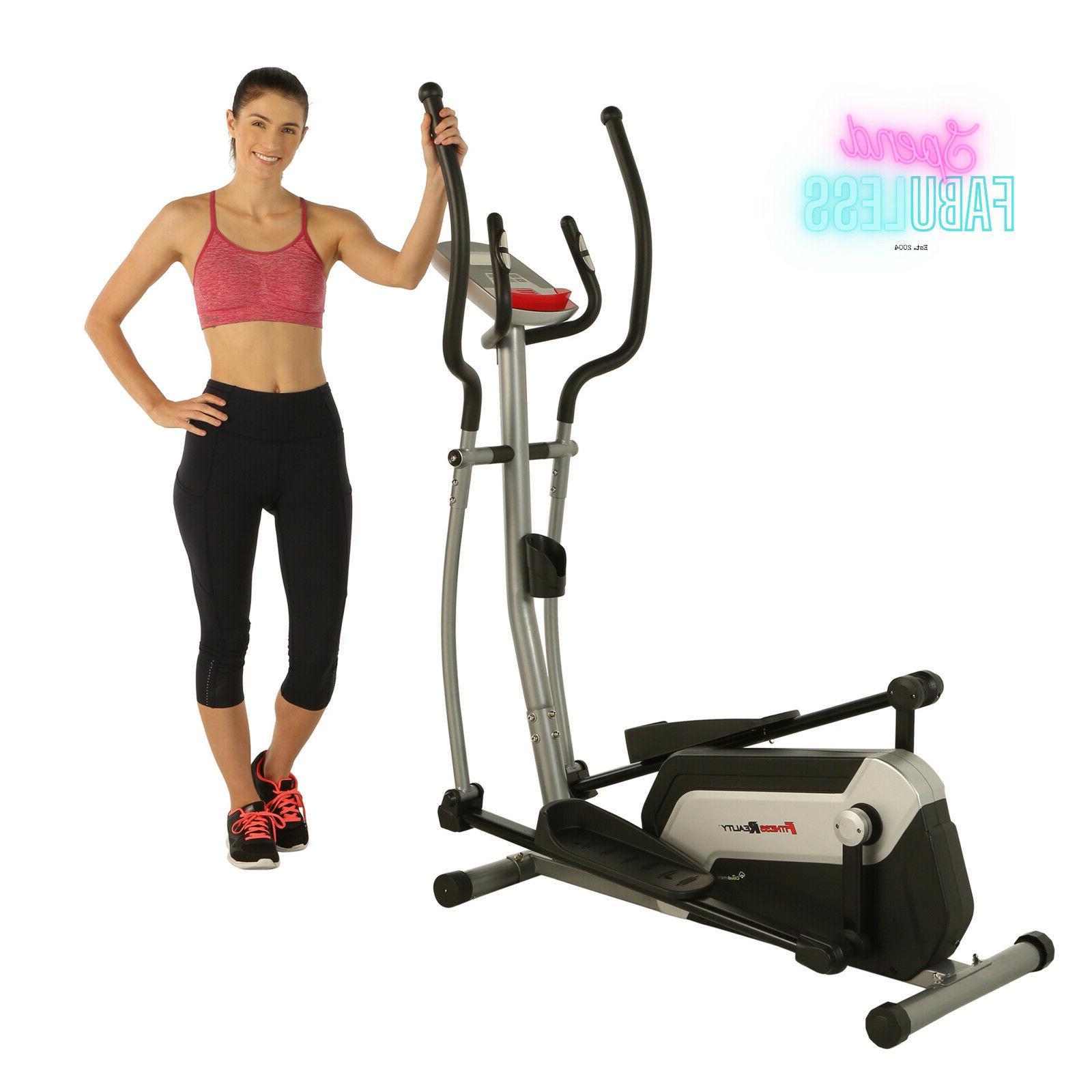 Bluetooth Smart Elliptical Exercise Workout Machine New