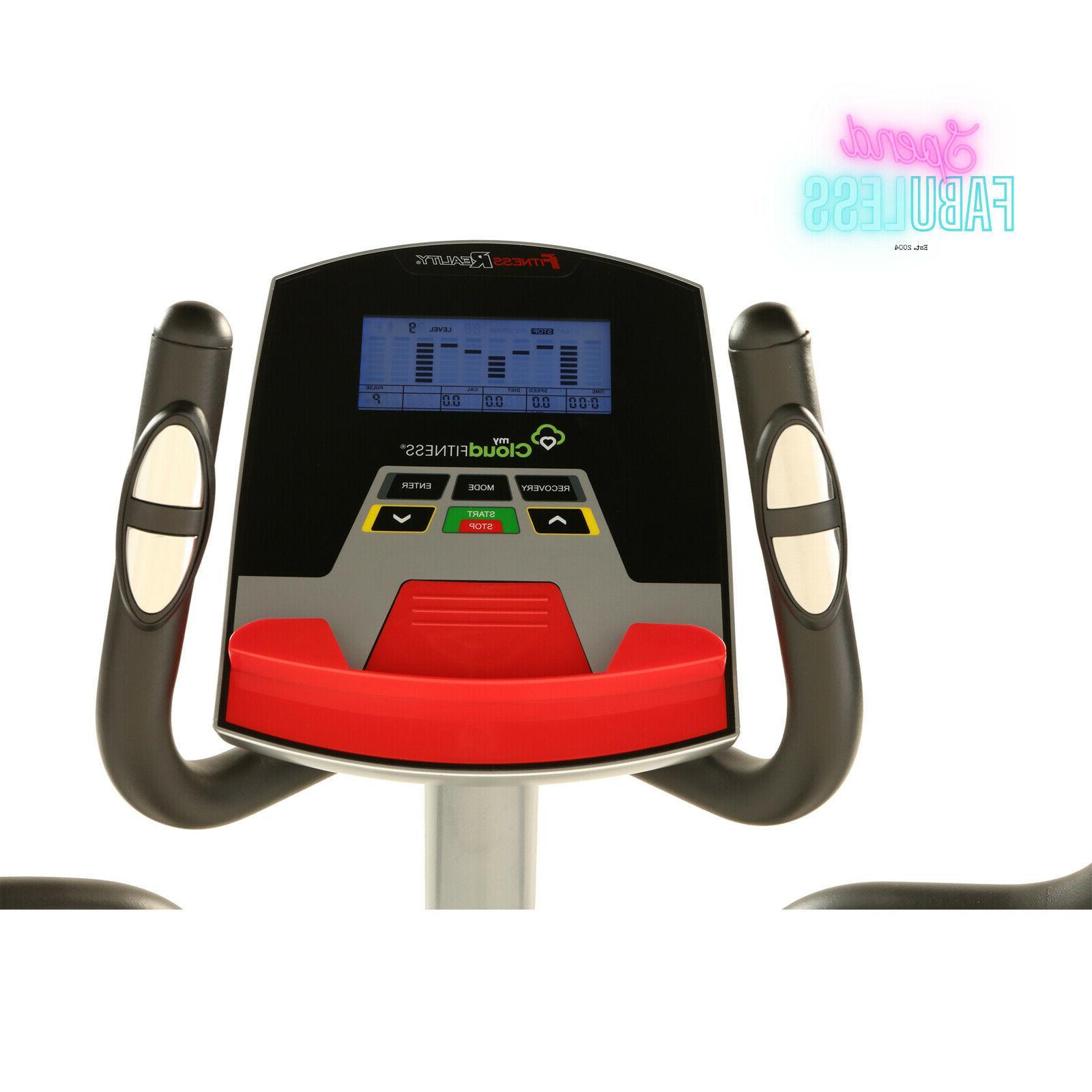 Bluetooth Cloud Elliptical Fitness Exercise Machine