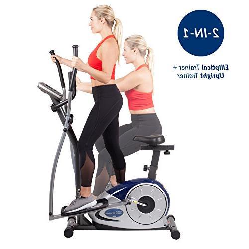 Body Champ 1 Cardio Workout Bike Computer Resistance BRM3671