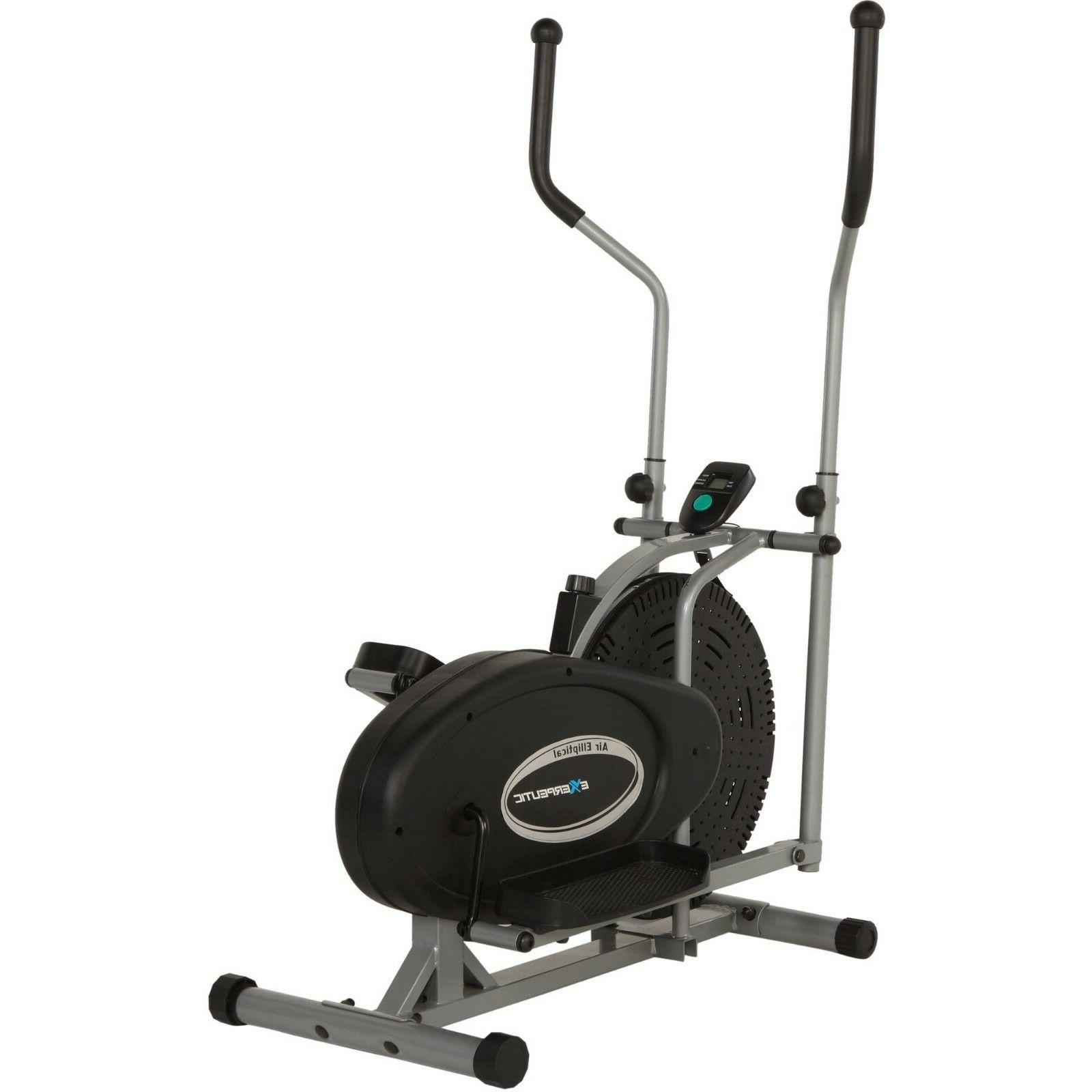 Elliptical Bike 2 IN 1 Cross Trainer Exercise Fitness Machin