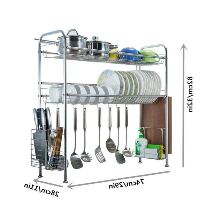 Dish Drying Sink Display Kitchen Utensils Holder Sturdy
