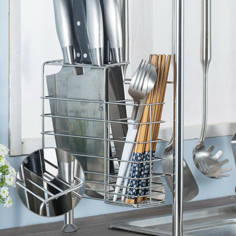 Dish Rack Over Sink Drainer Home Kitchen Sturdy