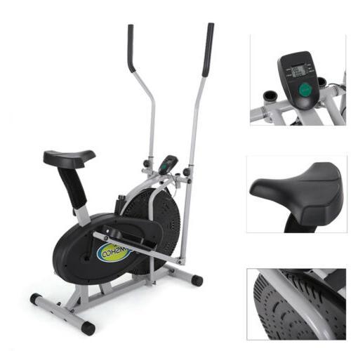 elliptical bike 2 in 1 cross trainer