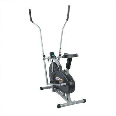 Indoor Elliptical Exercise Trainer Workout Machine Cardio