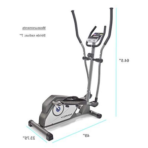 Marcy Elliptical Trainer Cardio Workout Transport
