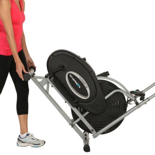 ELLIPTICAL EXERCISE Machine Trainer Fitness Gym