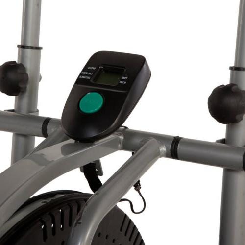 ELLIPTICAL EXERCISE Stepper Machine Bike Fitness