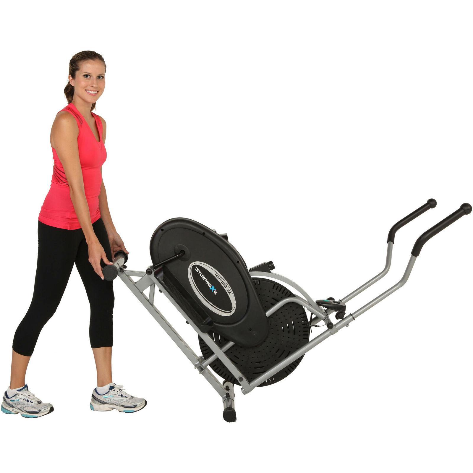 Elliptical Exercise Indoor Fitness Trainer Workout Cardio Equipment