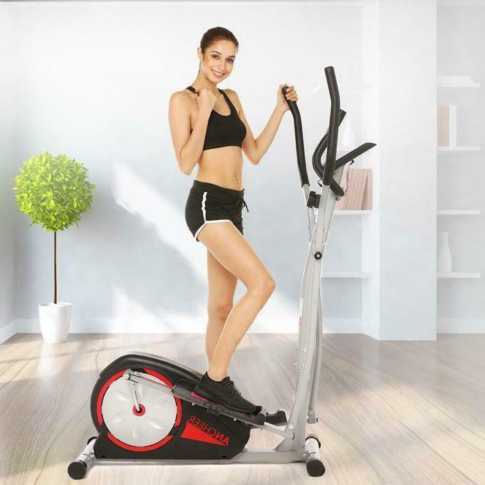 Magnetic Elliptical Machine Trainer Fitness Exercise Equipme