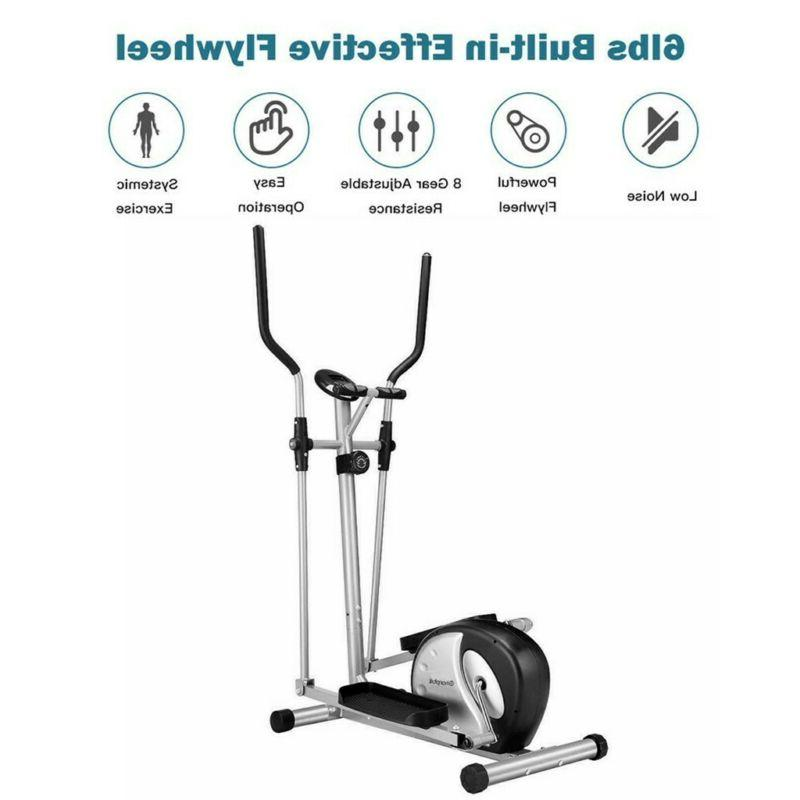 Magnetic Elliptical Smooth Quiet For Home Exercise
