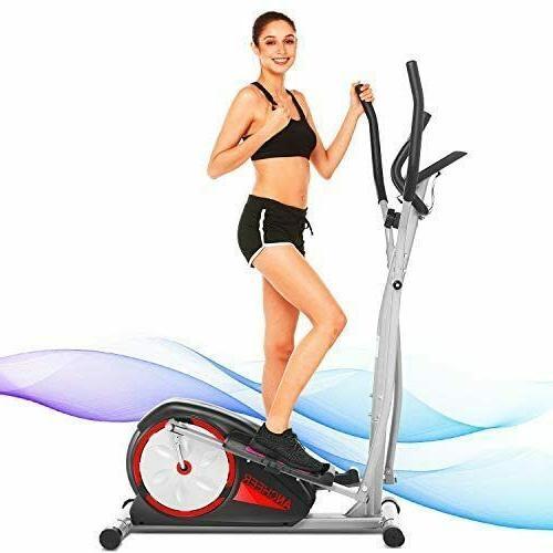 Indoor Elliptical Exercise Compact Quiet