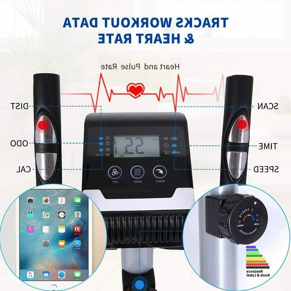 Elliptical Exercise Trainer Monitor Exercise Equipment