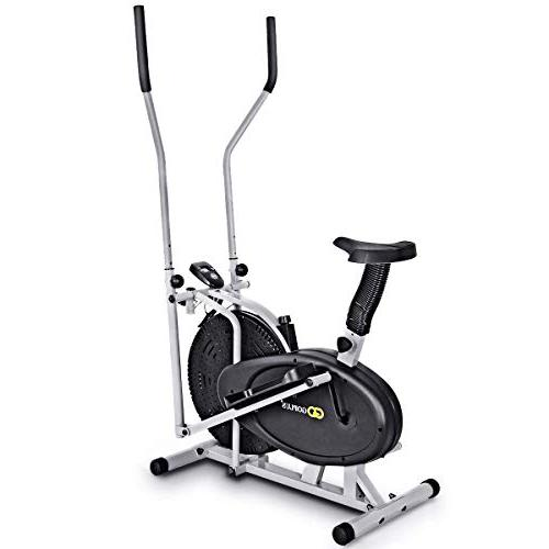 Goplus Fan 2 in Cross Exercise Workout Gym