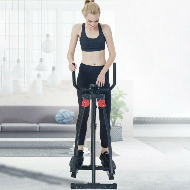 Air Walk Trainer Machine Digital LCD Monitor Fitness