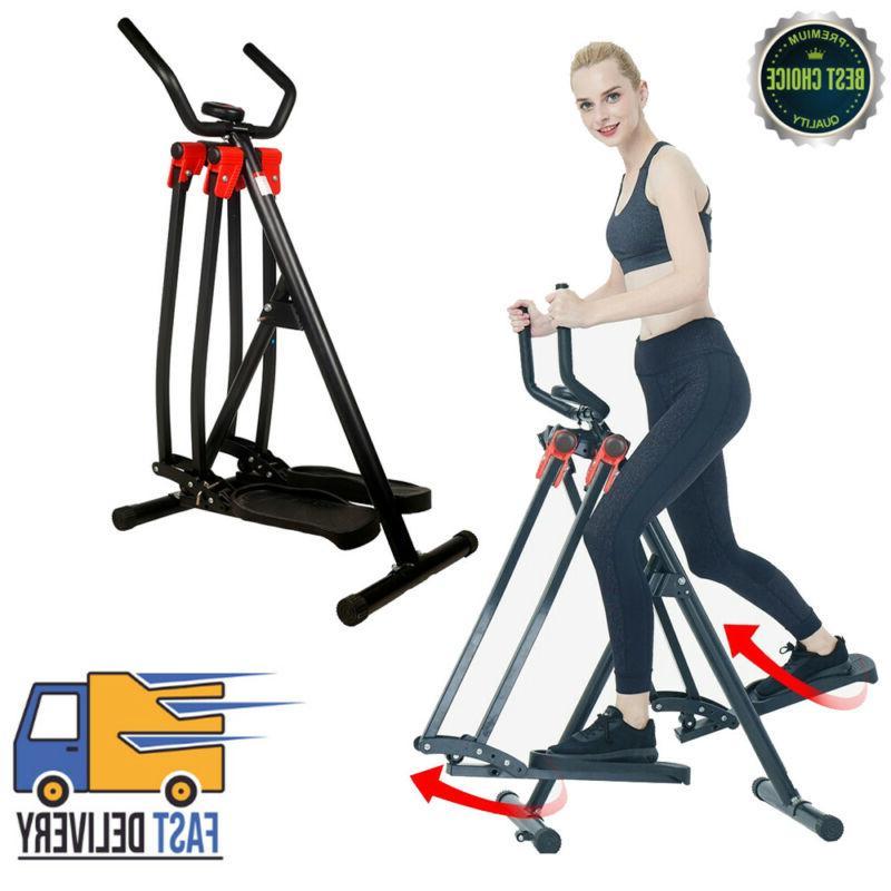 elliptical machine cross trainer 2 in 1