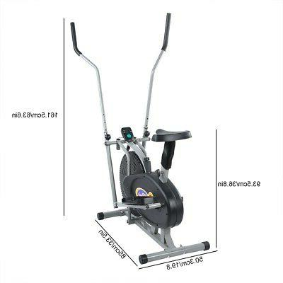 Elliptical Trainer Indoor Workout Cardio