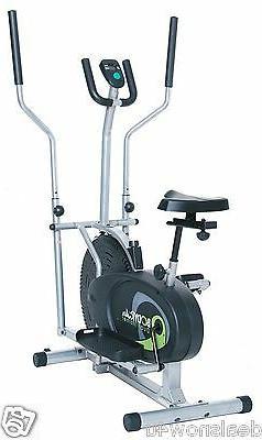 Elliptical Machine Exercise Fitness Trainer Bike Bicycle Dri