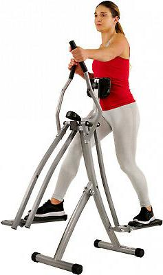 Elliptical Machine Glider Air Walk Trainer Digital LCD Monit