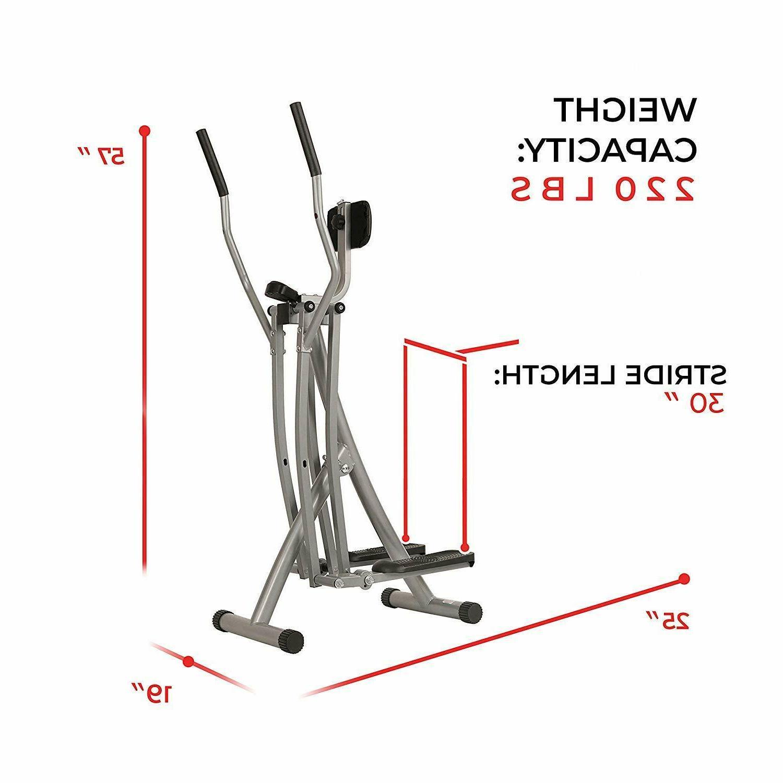 Air Walk Machine Monitor Workout