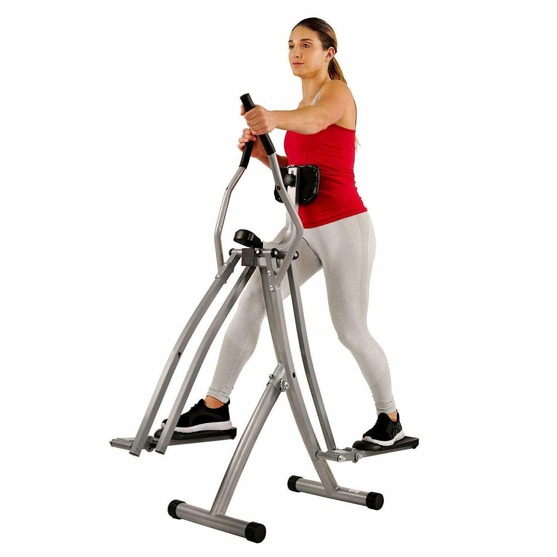 Air Walk Machine Glider Monitor Fitness Workout