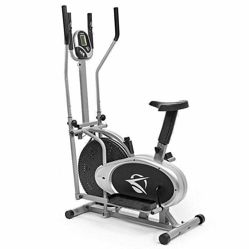 Plasma Elliptical Trainer Exercise Bike Cardio Fitness Home Gym