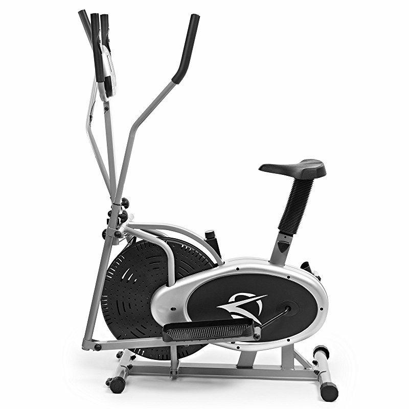 Plasma Fit Elliptical Trainer 2 Exercise Bike Total Cardio Fitness Home Gym with Heart