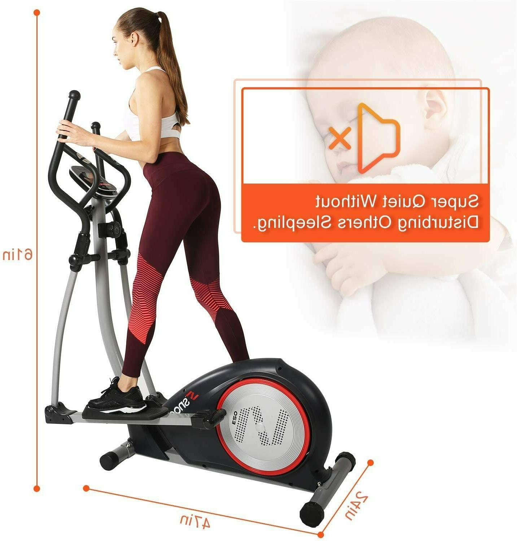 elliptical machine trainer heavy duty 3pc crank