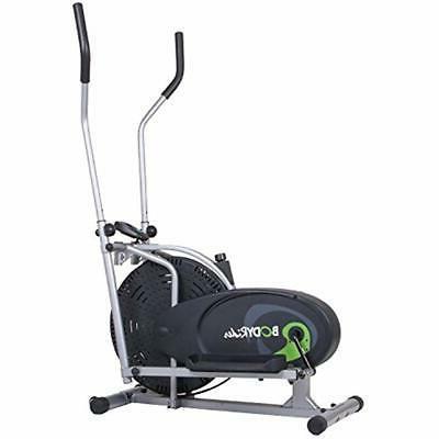 Elliptical Trainer Air Resistance Adjustable Levels Fitness