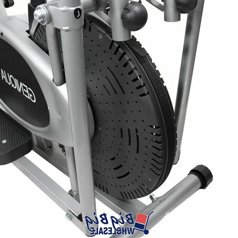 Elliptical Cross Exercise Bike Fitness Gym Cardio 2 Machine