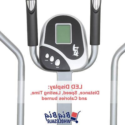 Elliptical Trainer Exercise Bike Workout Cardio Machine