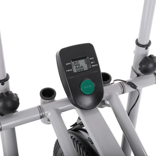 Elliptical Bike 2 1 Trainer Fitness Home Gym Workout