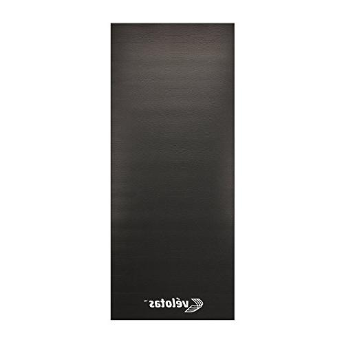 We Sell Velotas High Density & Treadmill Mat, x 7.5', Black