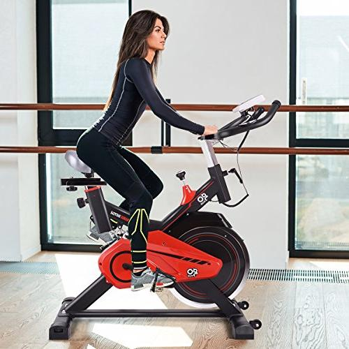 Cycle Trainer w/LED Display for Gym