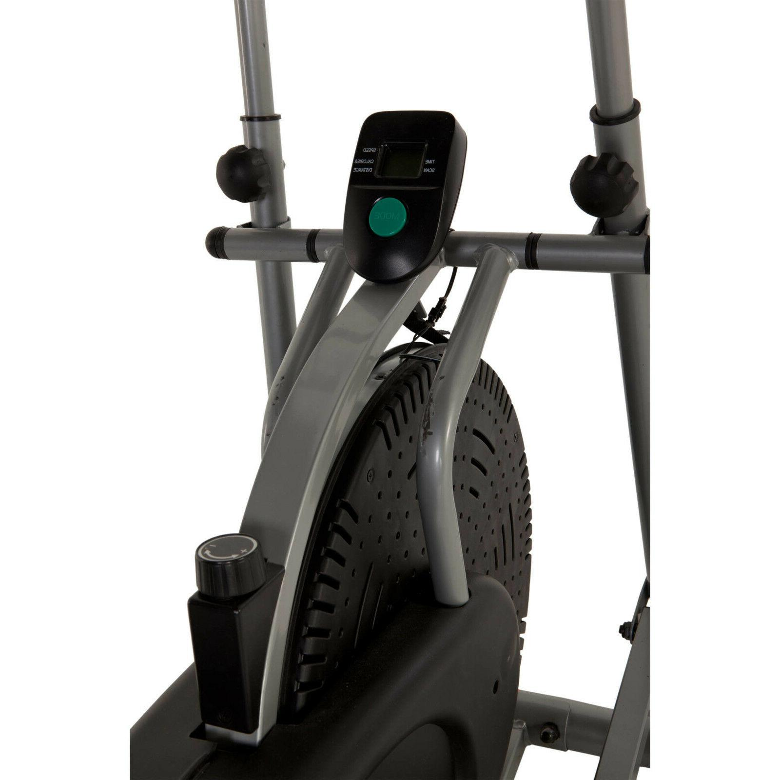 Indoor Elliptical Exercise Machine Fitness Trainer Workout G