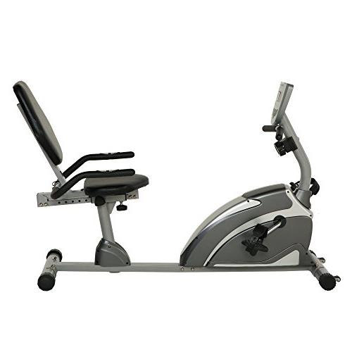 Exerpeutic 900XL Extended Capacity Recumbent Bike with Equip