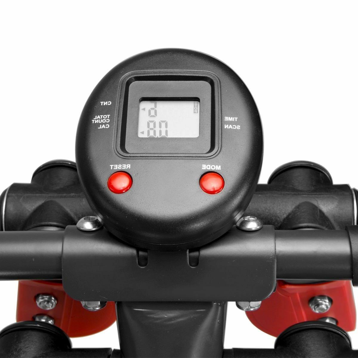 Fitness Elliptical Trainer Cardio Machine Walker lcd