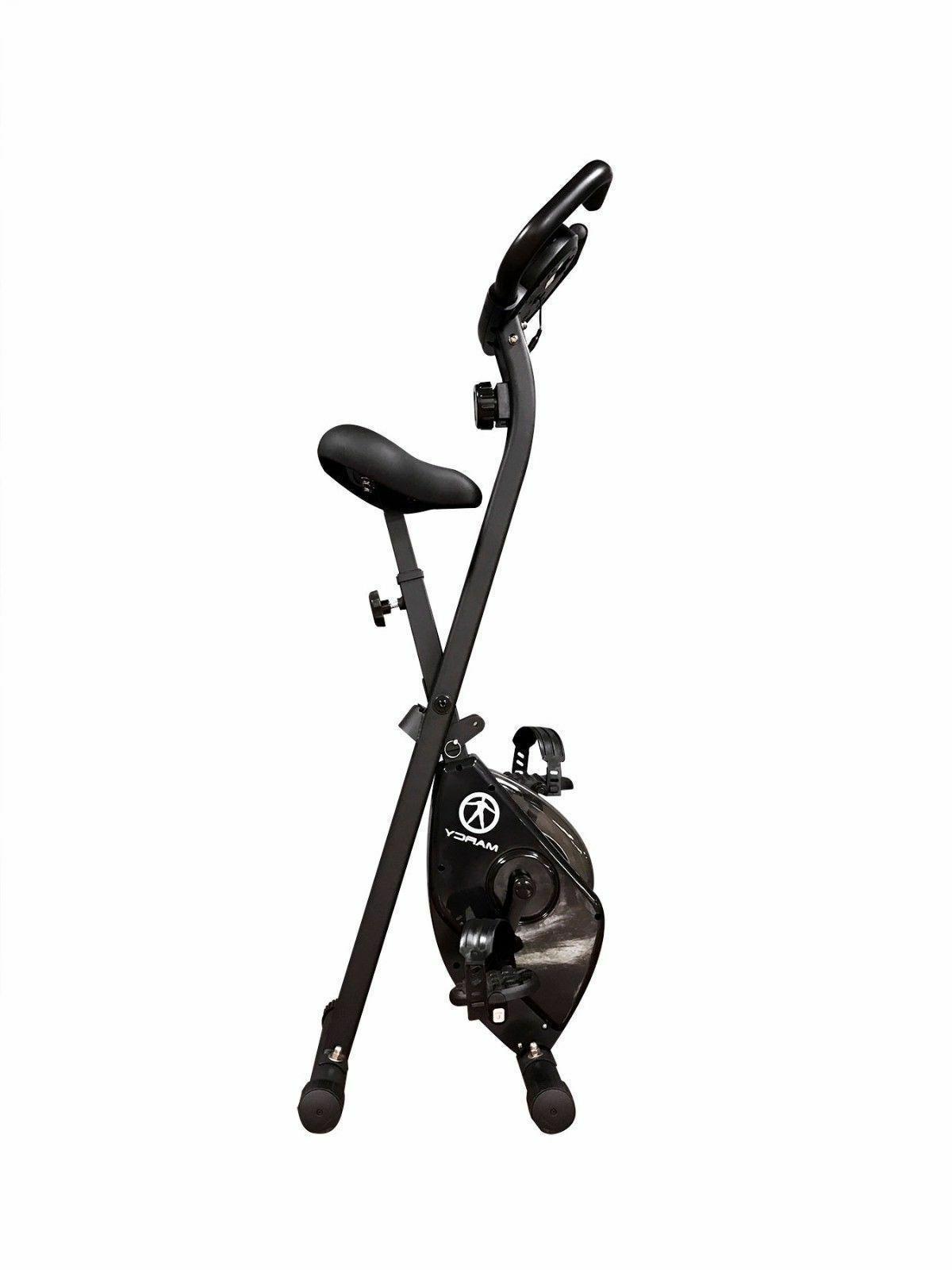 Marcy Foldable Upright Exercise Bike | NS-654 Stationary