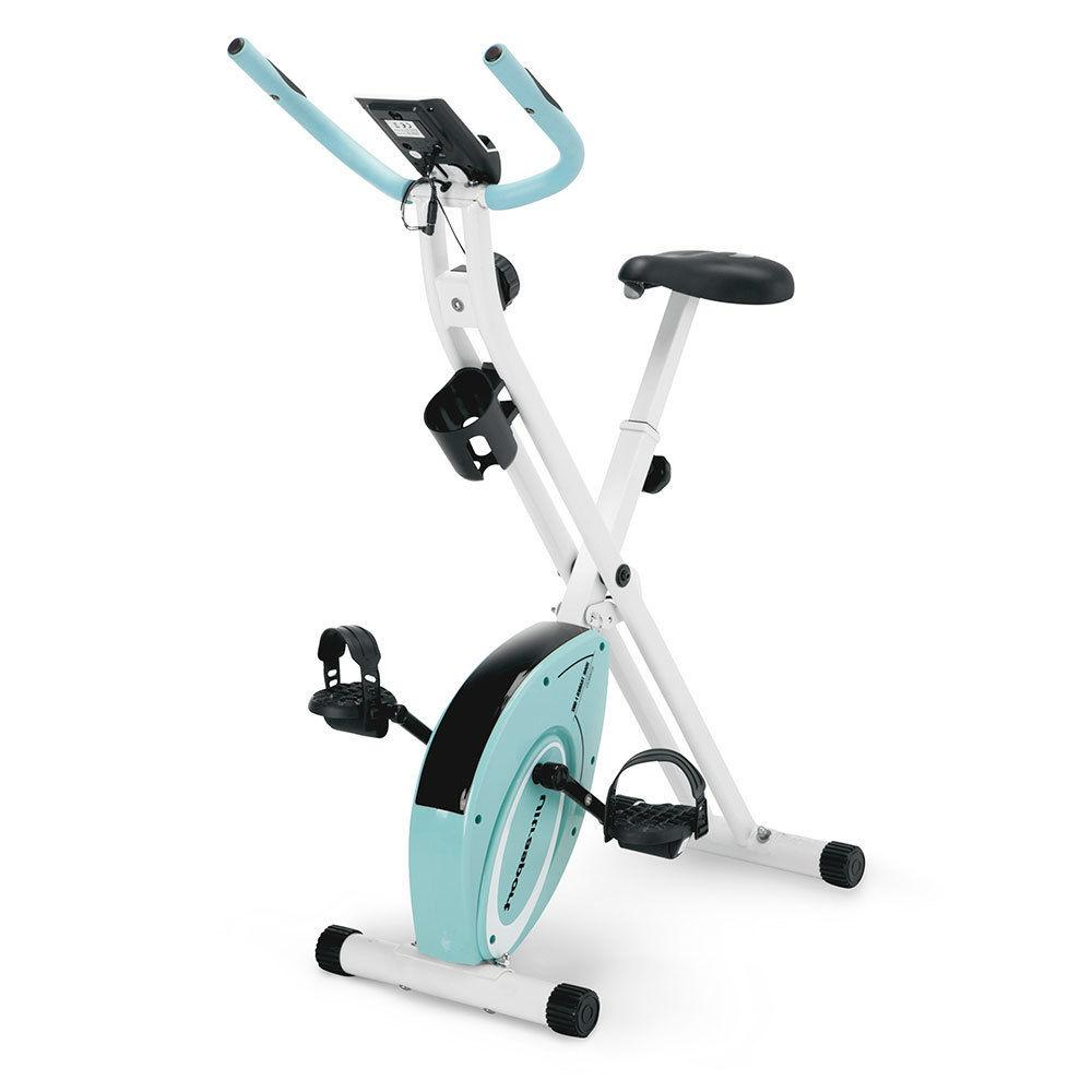Marcy Foldable Exercise Bike Stationary Compact Bicycle Multiple Colors