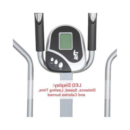 Folding Elliptical Bike Cross Exercise Fitness VI