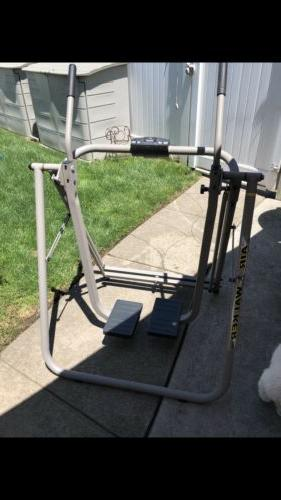 Folding Air Walker Glider Fitness Exercise Machine Workout T